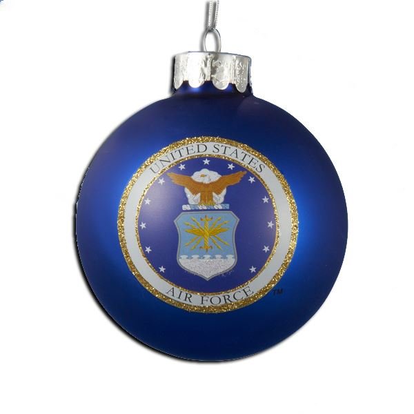 Air Force Christmas Ornaments