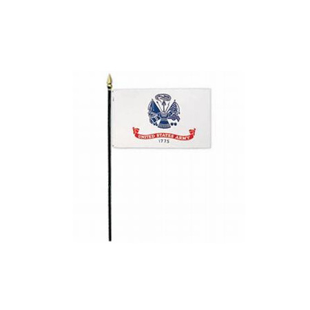Handheld Army Flags