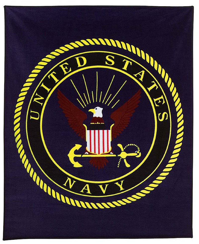 US Navy Blankets, Towels and Pillows