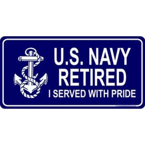 US Navy Car & Motorcycle Accessories