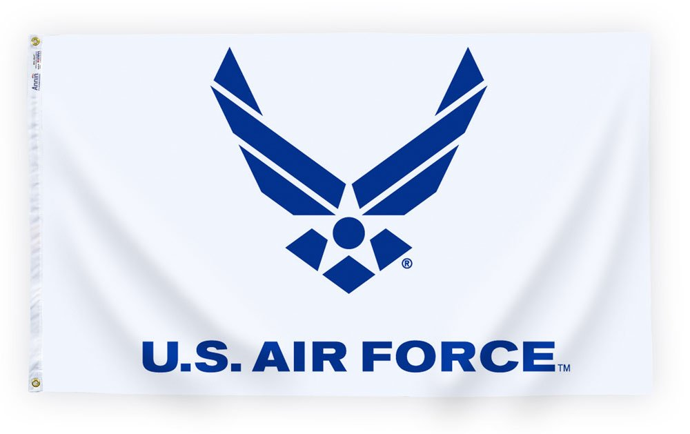 3' X 5' Nylon Air Force Logo Flag