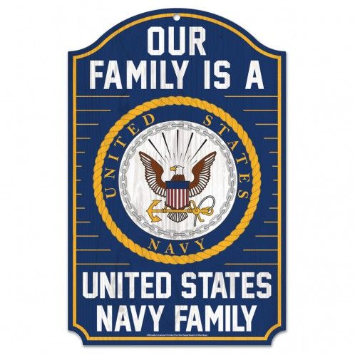 US Navy Family Sign