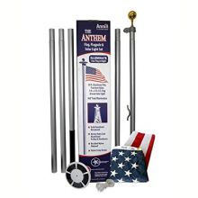 Anthem Residential Lighted Flagpole Set - 20 ft