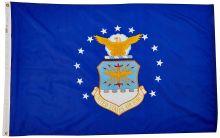 Nylon Air Force Flag - 4 ft X 6 ft
