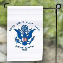 Coast Guard Garden Banner