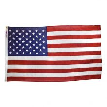 Americana Cotton U.S. Casket Flag - 5 ft X 9 1/2 ft