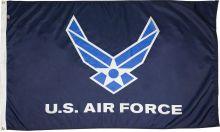 3'x5' Nylon Air Force Wings Flag