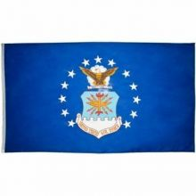 Economy Printed Air Force Flag - 2 ft X 3 ft