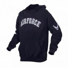 Embroidered US Air Force Pullover Hoodie