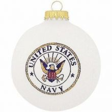 U.S. Navy Emblem Christmas Ornament