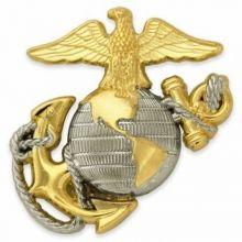 USMC Two-Tone Emblem Pin