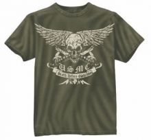Vintage USMC Death Before Dishonor T-Shirt