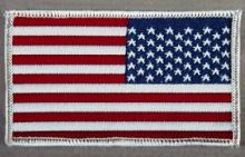 U.S. Flag Patch (right hand version)
