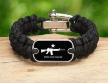 Come and Take It Survival Bracelet