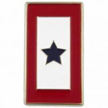 Blue Star Flag Pin