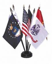 Mounted Armed Forces Flag Set