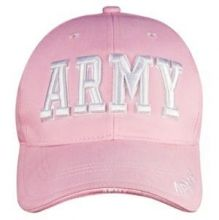 Women's Pink Army Hat