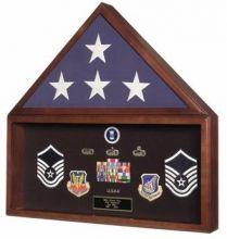 Flag and Memorabilia Display Case