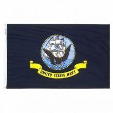 Economy Printed Navy Flag - 2 ft X 3 ft