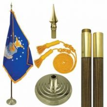 Mounted Air Force Flag Sets