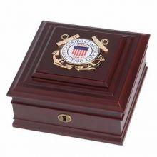 U.S. Coast Guard Medallion Desktop Box