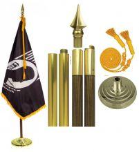 Mounted POW-MIA Flag Sets