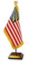 Presidential US Flag Desk Display