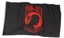 Red POW/MIA Flag