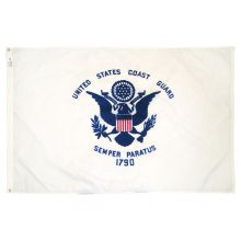 Nylon Coast Guard Flag - 3 ft X 5 ft