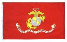Nylon Marine Corps Flag - 12 in X 18 in