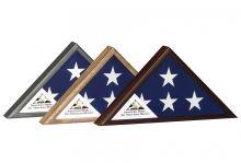 Veteran Commemorative Flag Case - Three Finishes