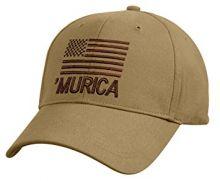 Deluxe Low Profile 'Murica Cap