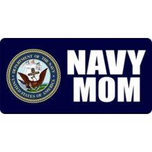 U.S. Navy Mom License Plate