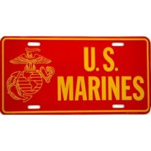US Marines License Plate