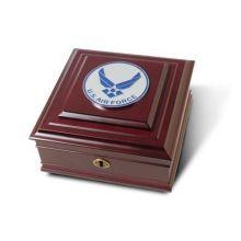 Air Force Medallion Desktop Box