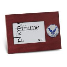 Air Force Medallion 4-Inch by 6-Inch Desktop Picture Frame