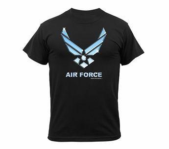 US Air Force Black T-Shirt