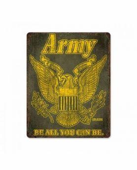 US Army Retro Steel Sign