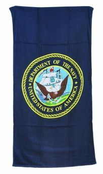 US Navy Beach Towel