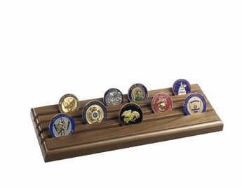 Challenge Coins, Medals and Display Cases - Honoring Veterans