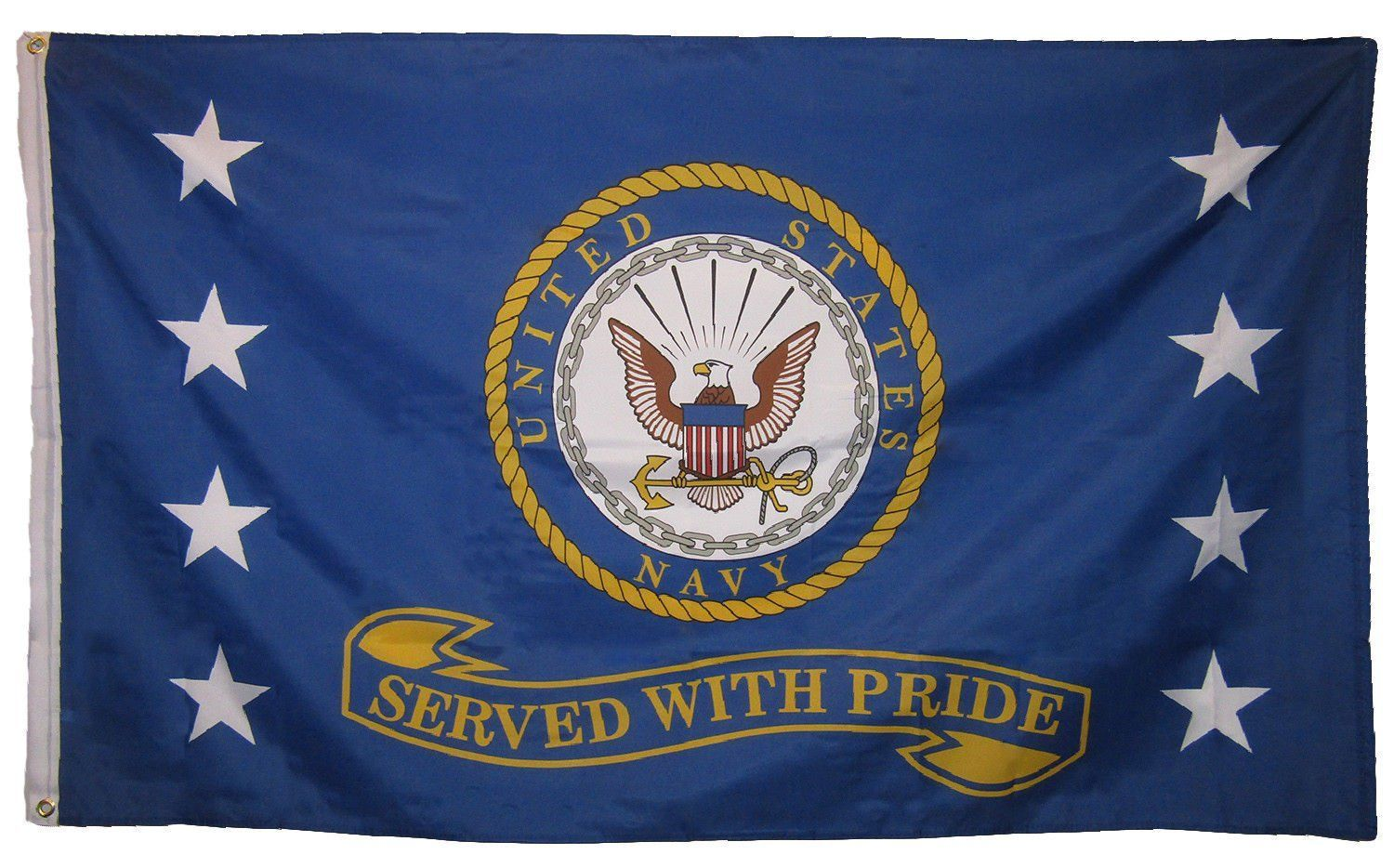 Served with Pride Navy Flag